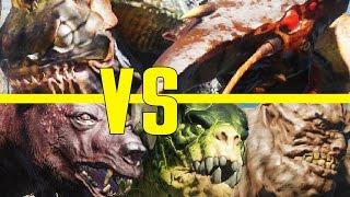 Far Harbor Beasts VS Commonwealth Creatures! - Fallout 4 Creature Deathmatch