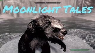 Moonlight Tales Skyrim Special Edition Remastered Werewolf Werebear Mod Showcase By Brevi