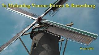 7e Voorne-Putten & Rozenburg Molendag 19 juli 2014