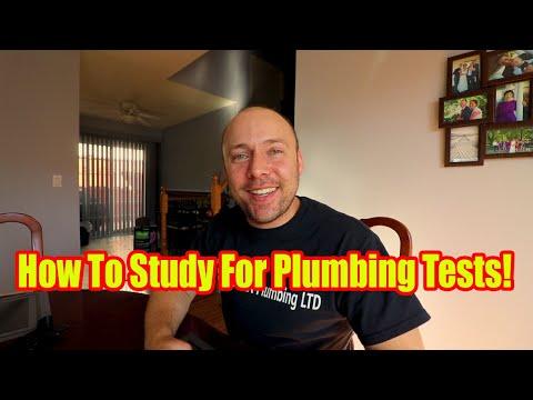 How To Study For Plumbing Tests/Plumbing Exams - YouTube