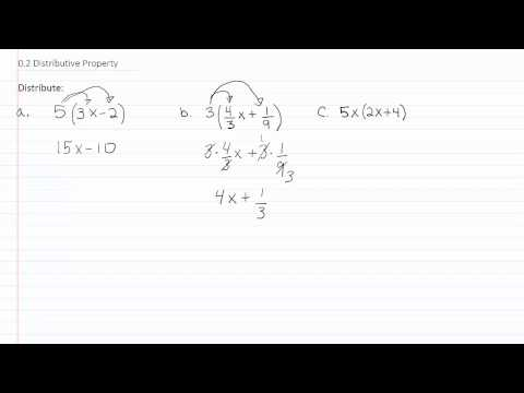 The Distributive Property p1