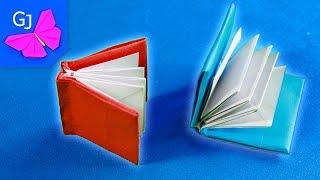 Оригами КНИЖКА из бумаги своими руками