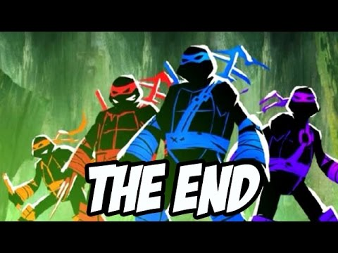 Teenage Mutant Ninja Turtles: Dark Horizons (Leatherhead) - THE END Nickelodeon Games