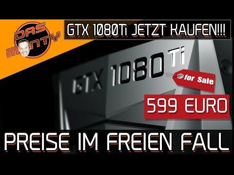 Nvidia GeForce GTX 1080Ti für nur 599 Euro - Preis im freien Fall | DasMonty Deutsch