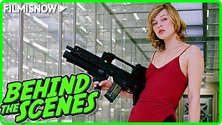 RESIDENT EVIL (2002) | Milla Jovovich Screen Test Video + Behind The Scenes