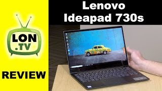 "Lenovo IdeaPad 730S Review - 13"" Lightweight Windows 10 Ultrabook"