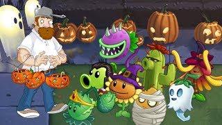Plants vs. zombies 2 ANIMATION Halloween 2 (Cartoon) Lawn of Doom