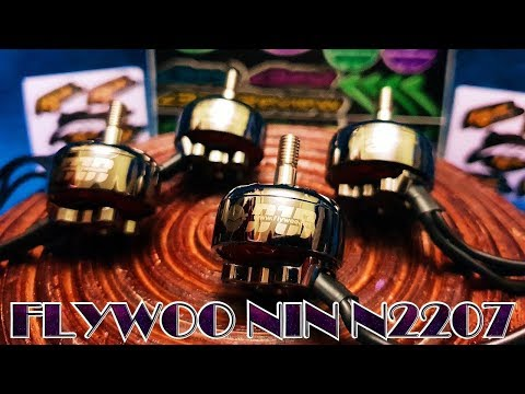 ✔ Бомбезные FPV Моторки FLYWOO NIN N2207 2750KV! 2019, Inspired by Japanese Ninja!