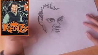 Рисунок карандашом Андрей Князев  Группа КняZz