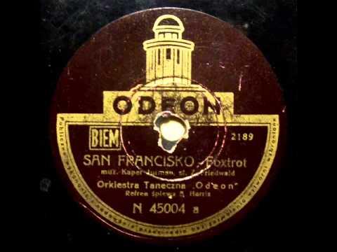 Albert Harris - San Francisko (Foxtrot)