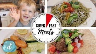 Five Minute Dinner Ideas!