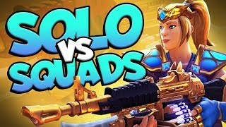EPIC SOLO vs SQUADS ACTION | Realm Royale [Mage]