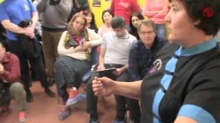 Презентация Тайского массажа на Празднике массажа в г  Королёве 2