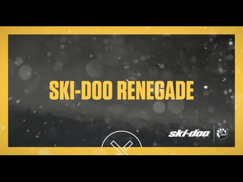 2017 Ski-Doo Renegade Adrenaline 1200 4-TEC E.S. in Speculator, New York - Video 1