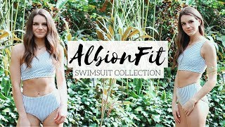 Albion Fit Try-On Swimsuit Haul!