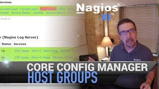 Host Groups in Core Configuration Manager