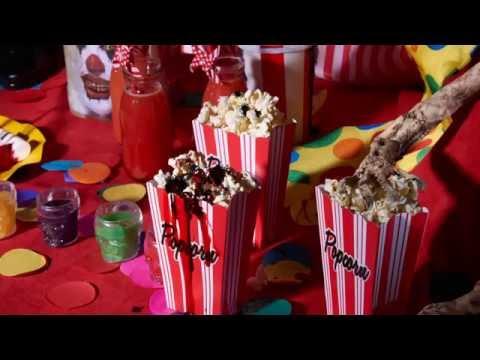 Bloedende Popcorn Halloween Receptidee