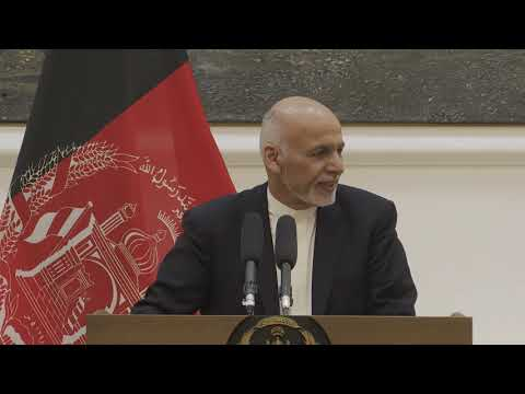 HRVP Mogherini press conference with Presdient Ashraf Ghani
