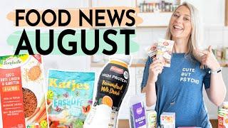 FOOD HAUL | Neuheiten im August | Linsen-Reis, Protein-Kefir uvm.