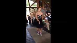Jacia Wedding - Best Wedding Entrance - Dance to Happy - #Happy 5th Anniversary to Us!!!!