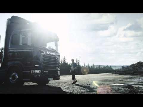 Scania V8 Video