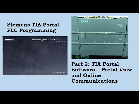 Siemens TIA Portal View and Online Communication