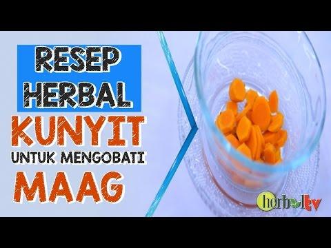 Video Resep Ramuan Herbal Kunyit Untuk Mengobati Sakit Maag