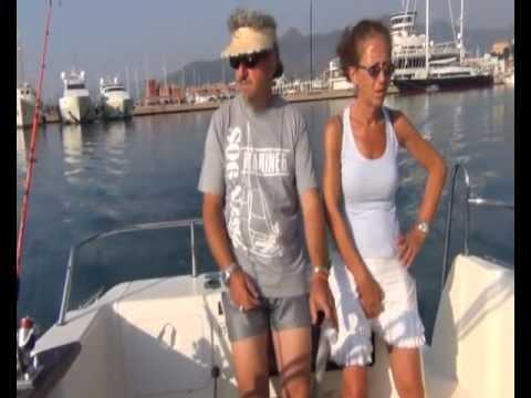 Video che pesca sul lago di riyets