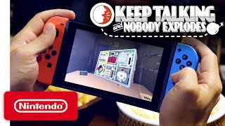 Keep Talking and Nobody Explodes - Pre-Purchase Trailer - Nintendo Switch - Video Youtube