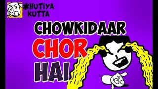 Hutiya Kutta | Chowkidaar Chor Hai | Adventures of Stupid Dog | Indian Elections Special