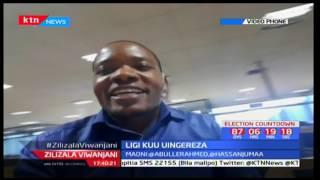 Hassan Jumaa apata maoni ya mashabiki ofisini Standard Group: Zilizala Viwanjani