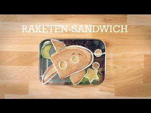Lunch-Box Kids: Raketen Sandwich