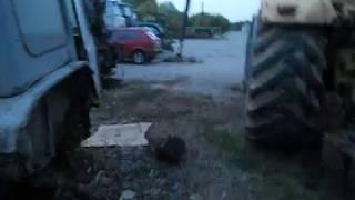 Заброшеные трактора