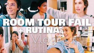 ROOM TOUR  Fail y NUESTRA RUTINA de NOCHE   VLOG!! 🔥