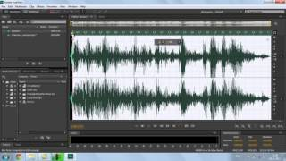Основы Adobe Audition