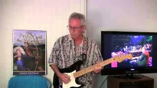 TampaBayDenny ~ Same Old Blues - Eric Clapton ~ Lead Guitar Cover