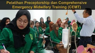 Universitas Nasional – Precetorship & comprehensive emergency midewife di Kampus UNAS