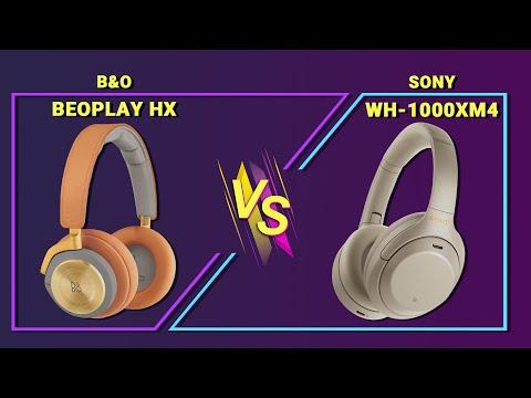 So Sánh B&O BEOPLAY HX và SONY WH-1000XM4 | ĐỌ SỨC CHỐNG ỒN