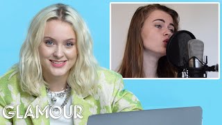 Zara Larsson Watches Fan Covers On YouTube | Glamour