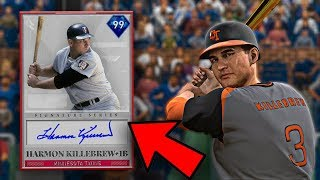 HARMON KILLEBREW DEBUT | HE HITS TANKS! | MLB THE SHOW 19 RANKED SEASONS GAMEPLAY