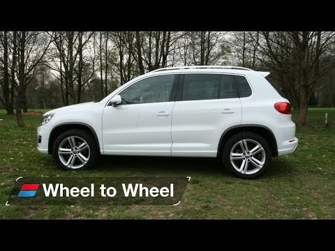 Land Rover Range Rover Evoque vs Mercedes GLA vs Volkswagen Tiguan video 3 of 4