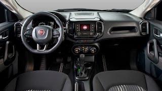 Novidade Nova Picape Fiat Toro 2016 - Interior e Exterior - (Canal Force Drive)