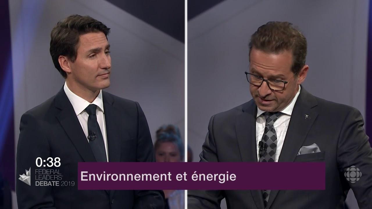Justin Trudeau et Yves-François Blanchet débattent sur les oléoducs et le changement climatique