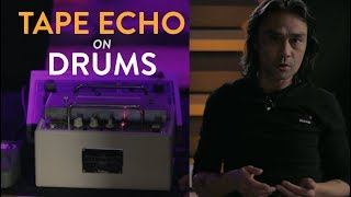 Tape Echo on D'Angelo's Drums - Russell Elevado