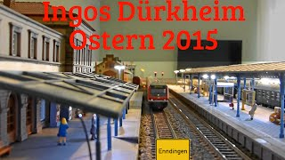 preview picture of video 'Modellbahn: Ingos Dürkheim - Ostern 2015'