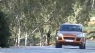 preview picture of video 'Essai Porsche Cayenne Diesel à Bizerte'