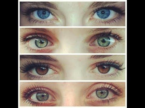 Цвет волос по цвету глаз