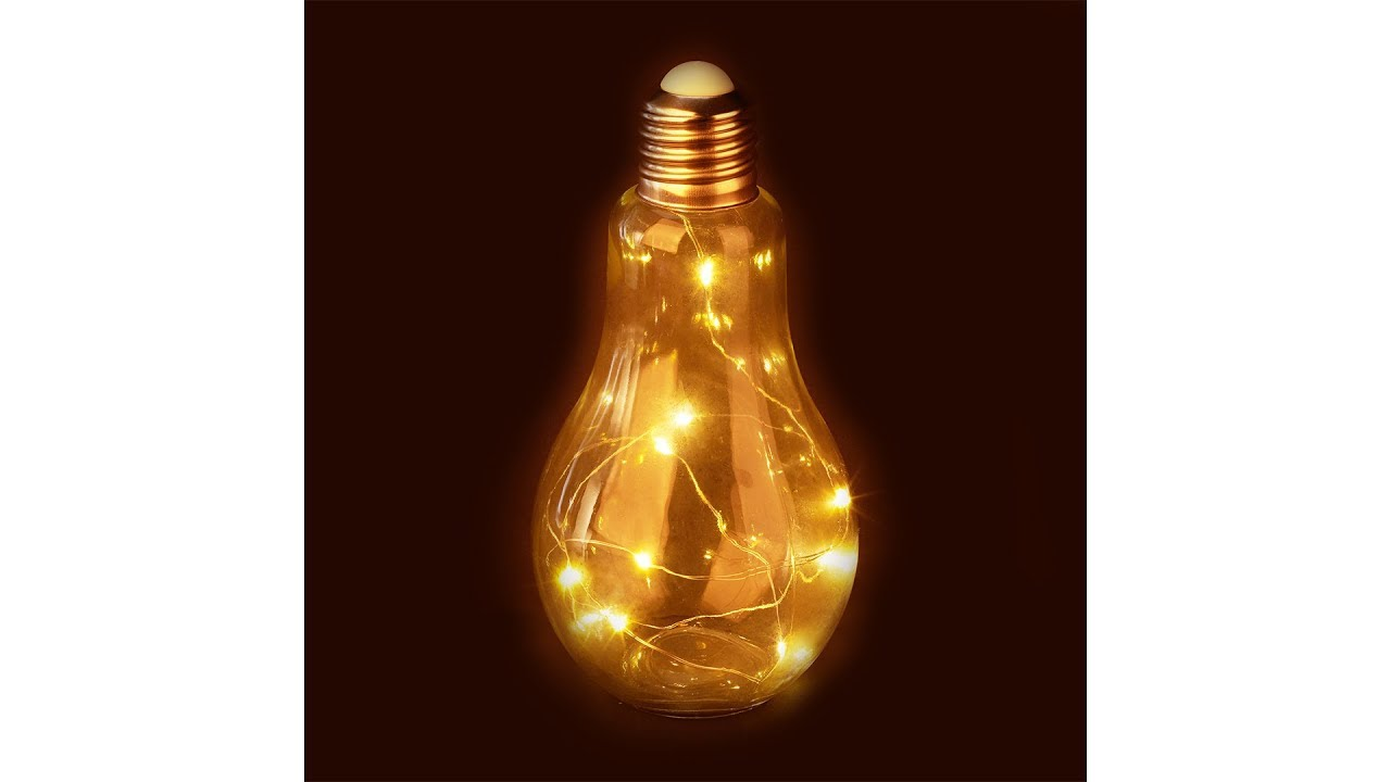 Video von: Deko Glühbirne LED aus Glas