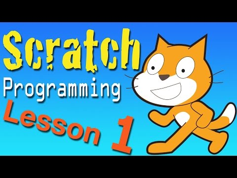 Scratch Programming Lesson 1: Intro
