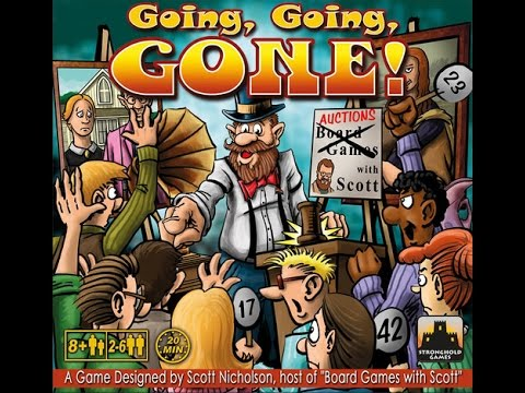 The Purge: # 980 Going, Going, GONE!: A Scott Nicholson production brings you a great party game: Yes, maybe there is a party game I like